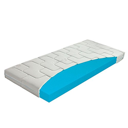 Beste Kaltschaum-Matratze für Kinder, Babymatratze für Kinderbett / Krippe, Abnehmbarer, Waschbarer Bezug mit Seealgen-Extrakt im Bezug für Besseren Schlaf & Gesundheit, Höhe 10 cm