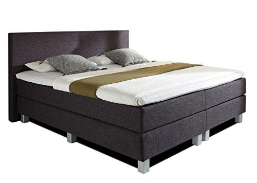 Boxspringbett Hotelbett Vital - PRO in 30 Stoffe oder T-Leder 5 Breiten erhältich in H2, H3 oder in H2 u. H3