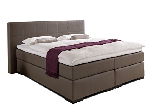 boxspringbett mondial rechteck kopfteil in 30 stoffe oder t leder 5 breiten erh ltich in h2 h3. Black Bedroom Furniture Sets. Home Design Ideas
