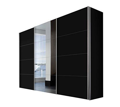 Express Möbel Kleiderschrank Schlafzimmerschrank 300 cm mit Spiegel, BxHxT 300x216x68 cm