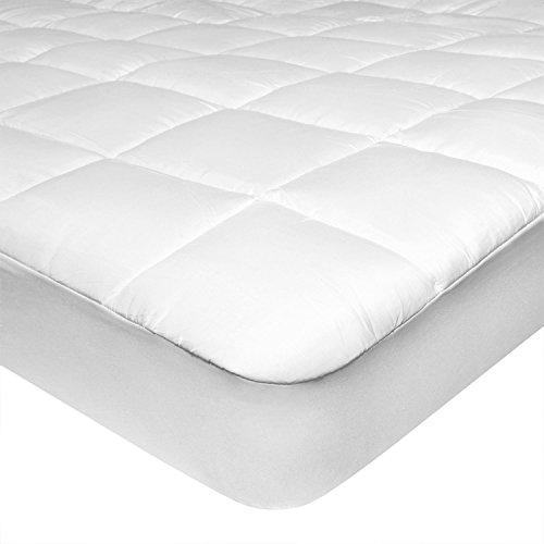 feluna mikrofaser matratzen topper gepolsterter matratzen auflage matratzenschoner unterbett. Black Bedroom Furniture Sets. Home Design Ideas