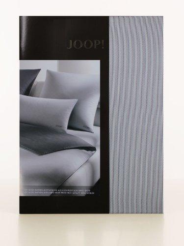 Joop Bettwäsche Micro Pattern silber 4040-9 155x200 cm + 80x80 cm