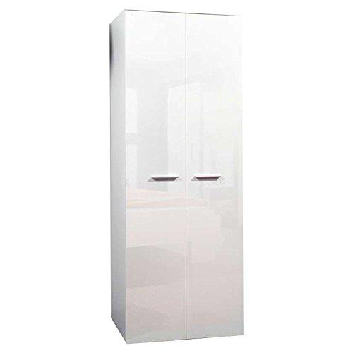 JUSThome 2DE Kleiderschrank Garderobenschrank Drehtürenschrank (HxBxT): 190x70x55 cm große Farbauswahl
