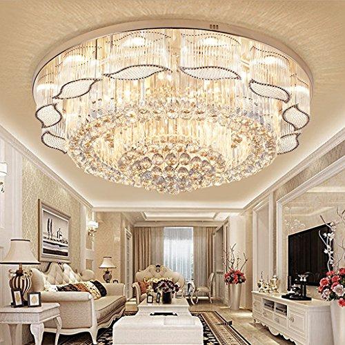 LED-europäisches minimalistisches Wohnzimmer-Schlafzimmer-Luxuxkristalldecken-Lampen (tragendes LED-Flecken-Licht, tragen nicht E14 Lichtquelle)