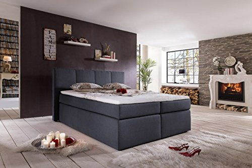 m bel24 boxspringbett mbelfreude boxspringbett lea first class hotelbett linien als steppung. Black Bedroom Furniture Sets. Home Design Ideas