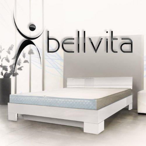 ORIGINAL bellvita Mesamoll II Wasserbett inkl. Hochglanz-Bettrahmen mit Aufbau durch Fachpersonal, 200 cm x 220 cm