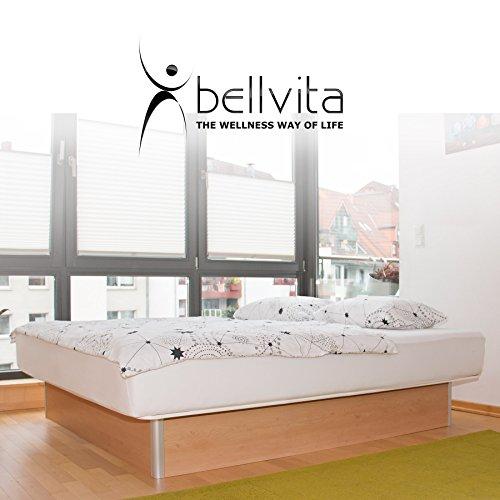 bellvita WASSERBETTEN SONDERAKTION inkl. Lieferung und AUFBAUSERVICE durch Fachpersonal, 160 cm x 200 cm (buche)
