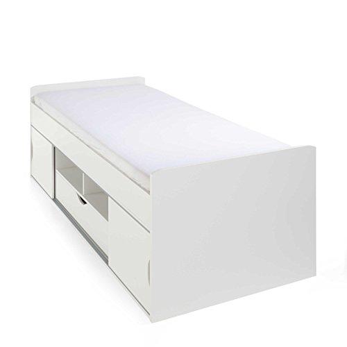 rauch PACK'S Bett Bibione 90 x 200 cm weiß