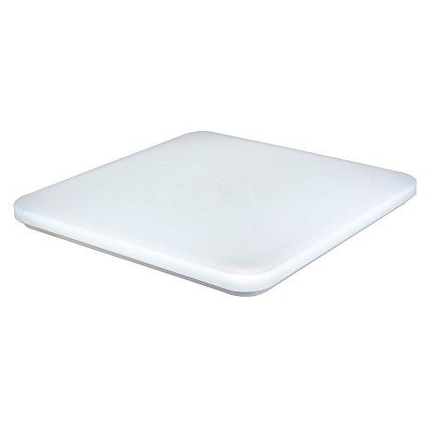 SAILUN® 36W Ultraslim Kaltweiß/Warmweiß LED Deckenleuchte Quadrat Weiß Deckenlampe Wandlampe Panel Lampe Energiespar Flurlicht für Wohnzimmer Lampe Schlafzimmer Küche Licht