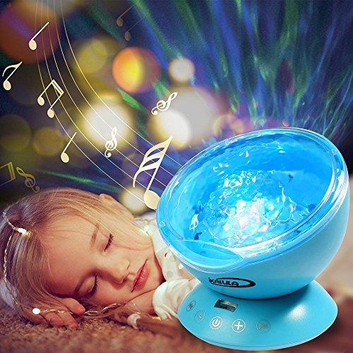 Sternenhimmel Projektor, ikalula Stimmungslichter Ozeanwelle Projektor Lampe Licht Schlaf Dekoration Nachtlicht Projektor f¨¹r Kinder Schlafzimmer, Hochzeit, Geburtstag