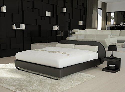 sam design boxspringbett mila girona schwarz mit bonellfederkern in massiv holz rahmen und. Black Bedroom Furniture Sets. Home Design Ideas