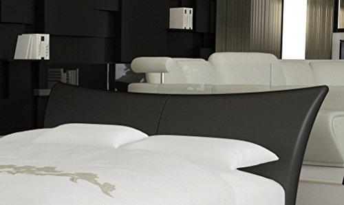 m bel24 sam design boxspringbett wild lima schwarz mit 7 zonen h2 taschenfederkern matratze. Black Bedroom Furniture Sets. Home Design Ideas