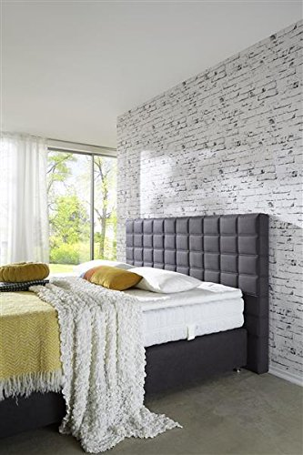 Breckle Boxspringbett 180 x 200 cm Big Ben Box Born Hollanda TFK Topper Kaltschaum Comfort