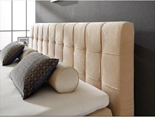 Breckle Boxspringbett 180 x 200 cm Calvadore Box Elektro Inspiration Hollanda TFK Topper Gel Comfort