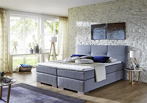 Breckle Boxspringbett 180 x 200 cm Cinderella Box Elektro Inspiration Hollanda TFK Topper Gel Comfort