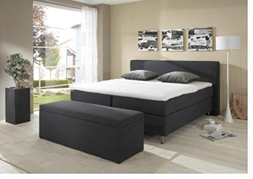 Breckle Boxspringbett 200 x 200 cm Cozy Box Mero Easy Big Bonnell Topper Gel Standard