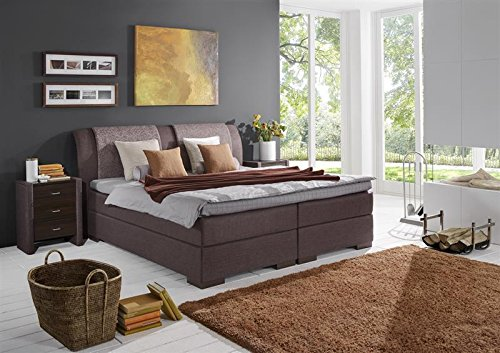 Breckle Boxspringbett 200 x 200 cm Lund Box Elektro Inspiration Hollanda TFK Topper Gel Comfort