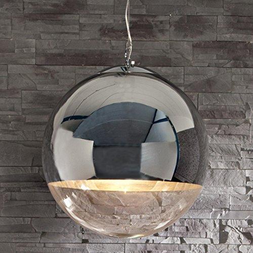 cag design lounge h ngelampe h ngeleuchte pelota glas chrom 40cm. Black Bedroom Furniture Sets. Home Design Ideas