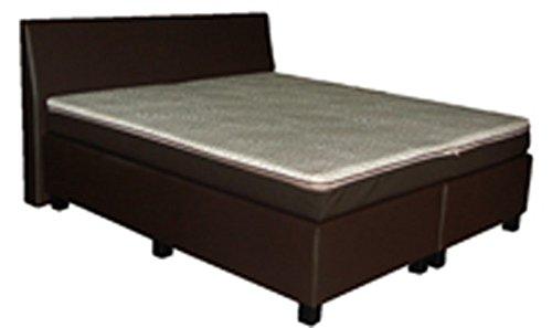 dreams4home boxspringbett 39 miami 39 schwarz 90 100 140 120 160 180 200x200cm hotelbett. Black Bedroom Furniture Sets. Home Design Ideas
