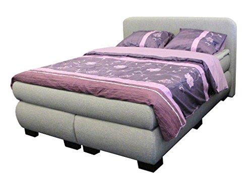 dreams4home boxspringbett sleepy grau 90 100 140 120 160 180 200x200cm hotelbett