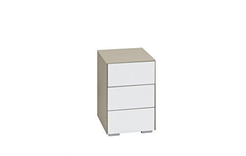 Nachtkommode Nachttisch MAJA in verschiedenen Farben mit Schubladen 40,7x60,1x46,2cm Boxspringbett-Nachtschrank