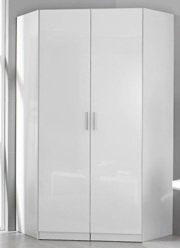 rauch eck kleiderschrank celle alpinwei hochglanz wei 117 x 117 cm m bel24 boxspringbett. Black Bedroom Furniture Sets. Home Design Ideas