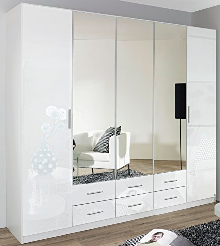 rauch kleiderschrank 4 t rig 2 spiegelt ren 2. Black Bedroom Furniture Sets. Home Design Ideas