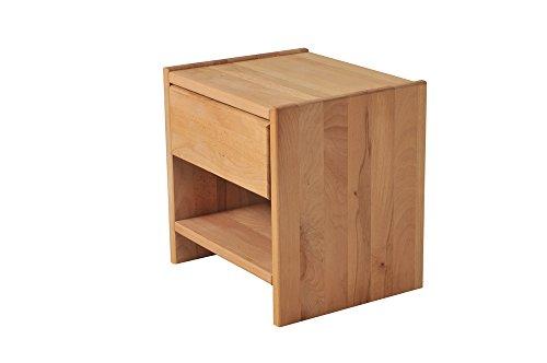SAM® Nachtkommode Jessica aus massivem Buche-Holz, mit ausreichend Verstaumöglichkeiten in rustikalem Design