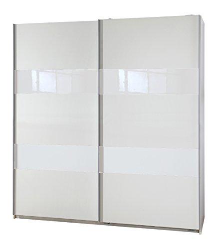 Wimex Kleiderschrank/Schwebetürenschrank Chess Glas, (B/H/T) 180 x 198 x 64 cm, Weiß
