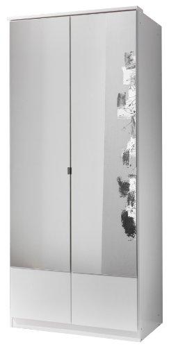 Wimex Kleiderschrank/Drehtürenschrank Imago, 2 Türen, (B/H/T) 90 x 199 x 58 cm, Weiß