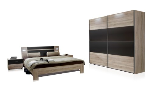 wimex schlafzimmer set mit bett nachttisch nachtschrank. Black Bedroom Furniture Sets. Home Design Ideas