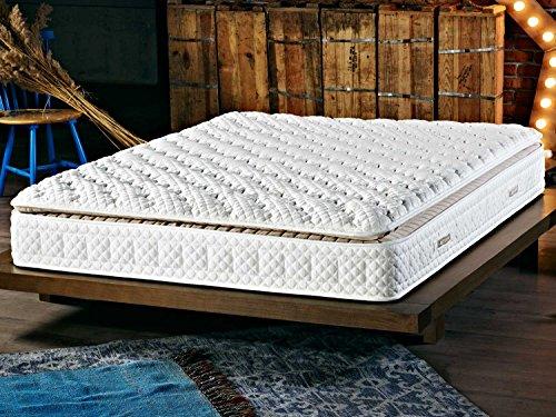 xxl 7 zonen taschenfederkernmatratze mit festen topper h he 31cm h3 amsterdam. Black Bedroom Furniture Sets. Home Design Ideas