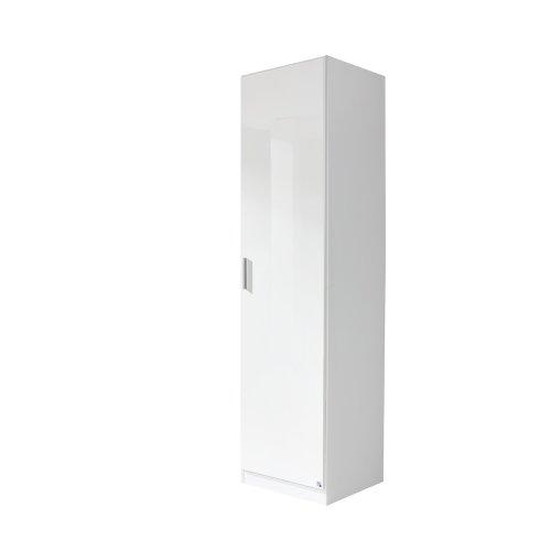 rauch Kleiderschrank Celle 1-trg., weiß/hochglanz weiß