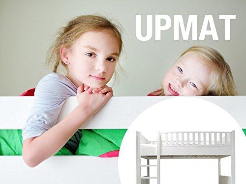 hochbett kindermatratze upmat f r kinder und jugendliche 90x200 kaltschaum made in germany. Black Bedroom Furniture Sets. Home Design Ideas