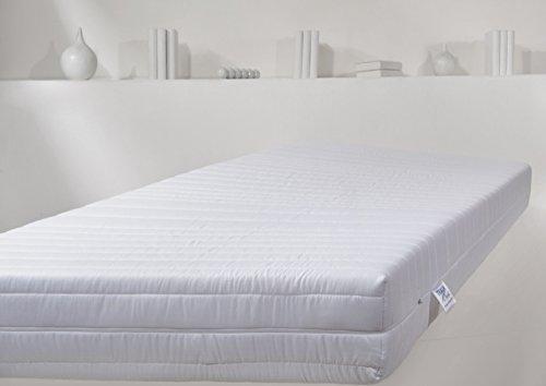 traumnacht t9 deluxe 9 zonen tonnentaschenfederkern matratze h rtegrad 3 h3 90 x 200 cm wei. Black Bedroom Furniture Sets. Home Design Ideas