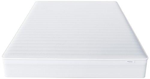 Hilding Sweden Essentials Federkernmatratze in Weiß / Mittelfeste Matratze mit orthopädischem 7-Zonen-Schnitt für alle Schlaftypen (H2-H3) / 200 x 80 x 22 cm
