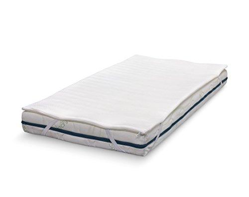 ABZ KM211-150 Kindermatratze Taschenfederkern Medicott 70 x 150 cm, weiß