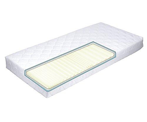 MSS® Aqua VitalFoam® 7 Zonen Matratze - H3 - 200x120 cm / 7 Zonen Wellen / H3