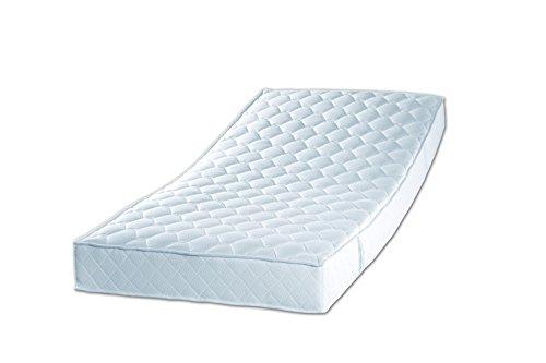 Sleepdream, Härtegrad 3, 7-Zonen-Tonnentaschenfederkern-Matratze, Polyester-Viskose, weiss, 200 x 90 x 18 cm