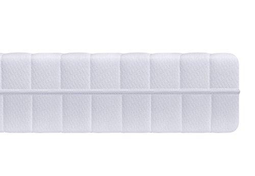 7 zonen matratze h rtegrad h2 h3 wei kaltschaummatratze rollmatratze doppeltuchbezug. Black Bedroom Furniture Sets. Home Design Ideas