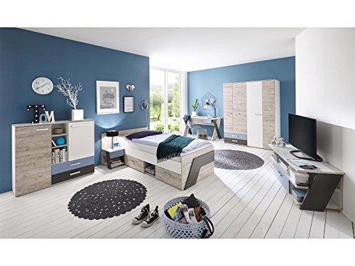 """Jugendzimmer komplett Set Kinderzimmer Schlafzimmer Möbel """"Ferdy I"""""""
