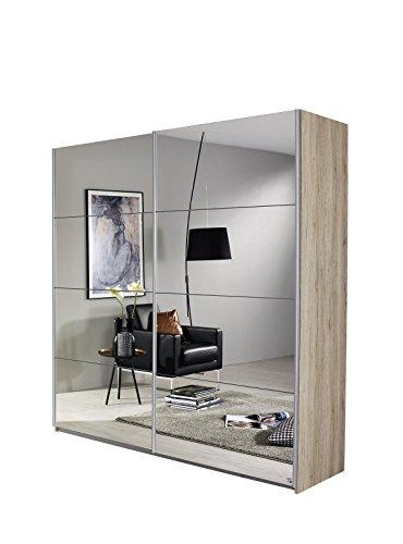 rauch schwebet renschrank mit spiegelfront 2 t rig korpus. Black Bedroom Furniture Sets. Home Design Ideas