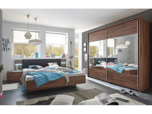 moebel eins samantha komplett schlafzimmer akazie. Black Bedroom Furniture Sets. Home Design Ideas
