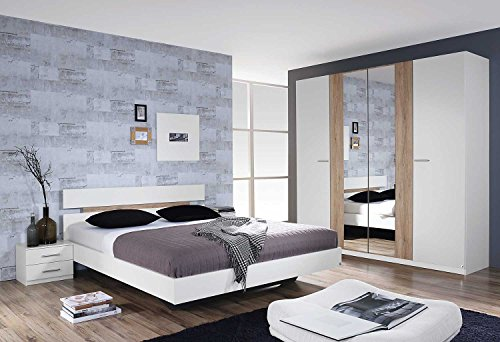 lifestyle4living schlafzimmer schlafzimmerm bel set komplett komplettset. Black Bedroom Furniture Sets. Home Design Ideas