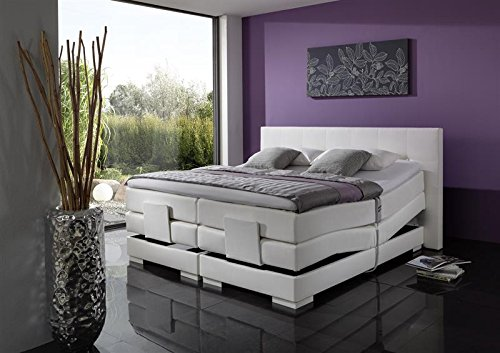 Breckle Boxspringbett 100 x 200 cm Oxford Box Split Hollanda 1000 TFK Topper Gel Premium Standard