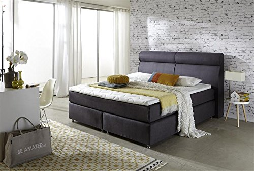 Breckle Boxspringbett 200 x 200 cm Topas Box Elektro Inspiration Hollanda TFK Topper Gel Comfort