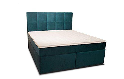 Dream Boxspringbett mit Luxus 7-Zonen Taschenfederkernmatratze und Kaltschaumtopper von Betten Jumbo