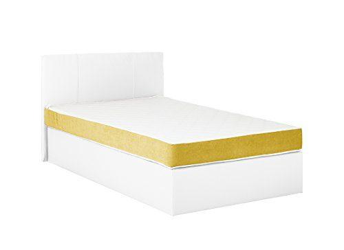 Boxspringbett Pluto Polstebett Boxspringbetten Betten 120x200cm Härtegrad 2 inkl. Topper in 5 Farben