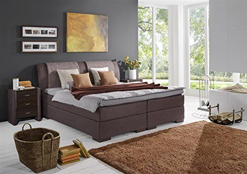 Breckle Boxspringbett 140 x 200 cm Lund Box Mero Easy Big Bonnell Topper Gel Standard