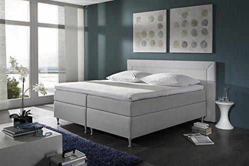 Breckle Boxspringbett 180 x 200 cm Window Box Split Hollanda 1000 TFK Topper Gel Premium Standard